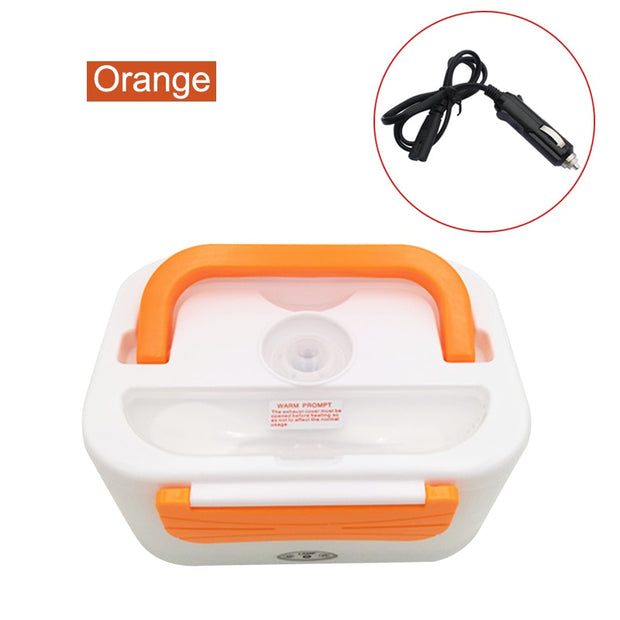 Newly Electric Heating Lunch Box Thermal Food Warmer Meal Heater 12V Portable For Travel Camping