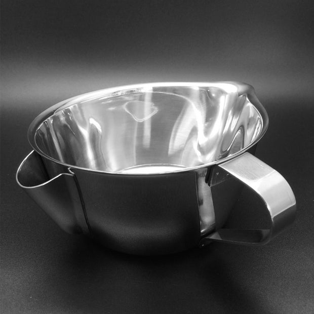 Oiler Multi-use Strainer Filter Oil Bowl Stainless Steel FAT Handle Separator