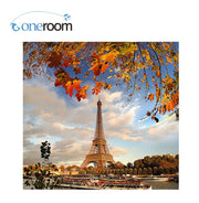 Oneroom 3d Diy Diamond Paris Iron Tower Scenery Needlework Embroidery Resinstone Diamond Cross Stitch Mosaic Decoration