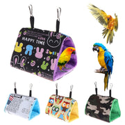 Parrot Nest Hammock Hanging Cage Warm Winter Birds Cage Bed Toys Hamster House