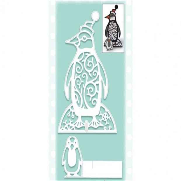 Penguin Baby Animal Metal Cutting Dies For DIY Scrapbooking Album Paper Card Decorative Craft Embossing Dies Cutting 2018 New