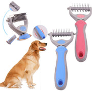 Pet Dogs Cats Multi-function Hair Grooming Comb About 130.6g As The Picture Shown Cleaning Brush