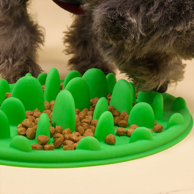 Pet Interactive Feeder Digestion Puzzle Food Bowl Pet Dogs Cats Anti Choke Interactive Slow Feeding Feeder