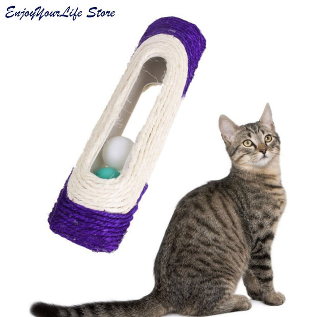 Pet Tunnel With Ball Cat Play Tunnel Funny Cat Long Tunnel Kitten Play Toy Bulk Animals Tunnel 2 Holes Easy Pack