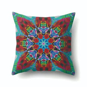 Pillow Case Bohemian Geometric Graffiti Pillowcase Cotton Ethnic Pillow Cover For Home Bedroom 45*45cm