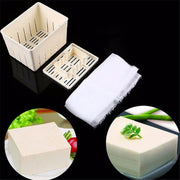 Plastic Tofu & Cheese Press Mold Tofu Maker DIY Pressing Mould Cutter Box Case Making Mold Non-toxic Creative Kitchen Tool