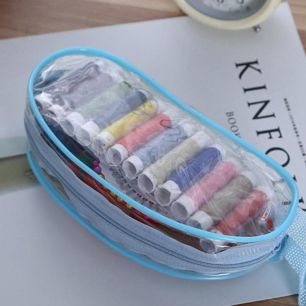 Portable Sewing Kit Sewing Needle Thread Stitching Cross Stitch Tools Embroidery Sewing Needle Craft Sewing Kits With Case Gift