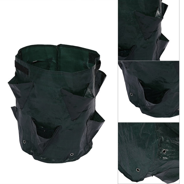 Potato Strawberry Planter Bags For Growing Potatoes Outdoor Vertical Garden Hanging Open Style Vegetable Planting Grow Bag