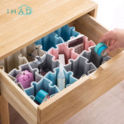 Puzzle Box Jigsaw Makeup Organizer Can Be Combined Office Organizer Underwear Tie Categories Box Pen Cosmetic/stationery Holder