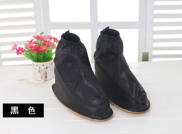 Rain Rainy Skid Shoe Covers Tendon At The End Wearable Portable Waterproof Rain Boots Men And Women Can Be Reused