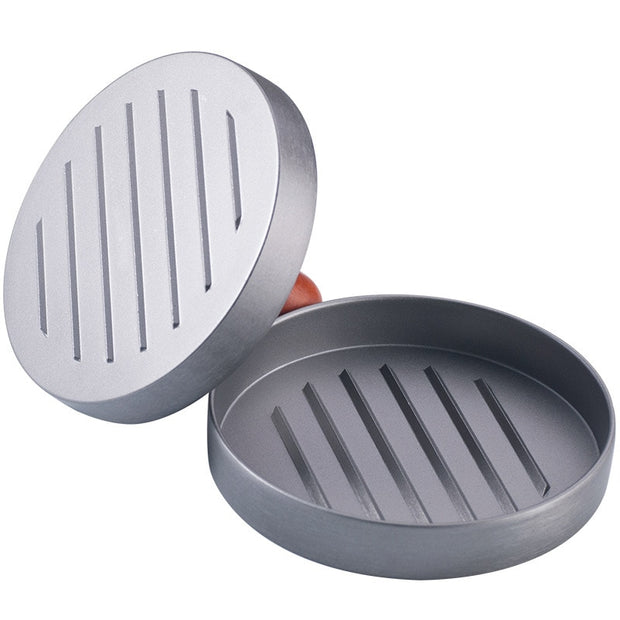 Round Shape Hamburger Press Aluminum Alloy 12 Cm Hamburger Meat Beef Grill Burger Press Patty Maker Mold Meat & Poultry Tools
