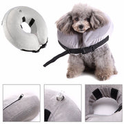 S-L Inflatable Pet Cat Dog Pet Supplies Recovery Healing Protective Collar Anti-bite E-Collar Medical Neckwear With Zipper