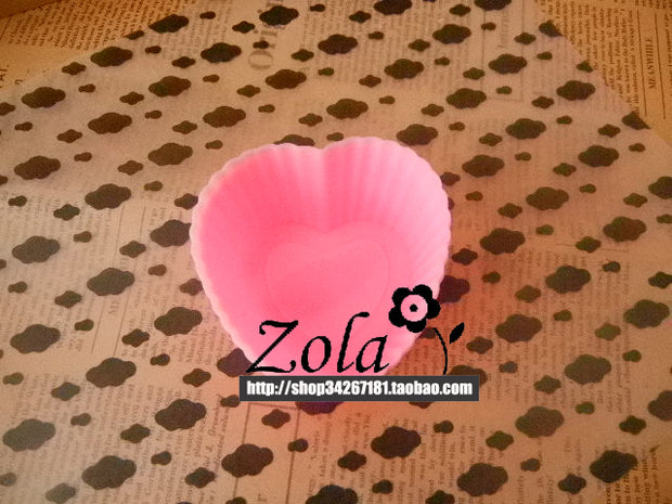 Single Hole Small Love Die Handmade Soap Mold Chocolate Mold Silicone DIY Mold Material