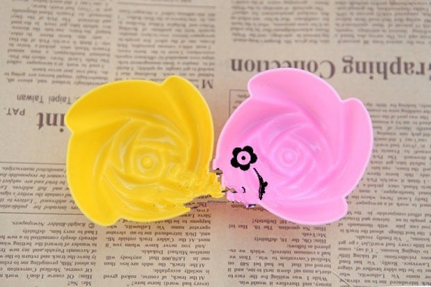 Single Hole Small Rose Mold For Soup Making Handmade Soap Mold Chocolate Mold Silicone Mold