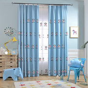 Sinogem High Luxury Embroidery Curtain Cartoon Style Curtains Embroidered Bedroom Modern For Living Room Blackout Cortinas