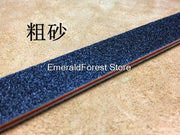 Skin Sculpture With Sanding Strip, One Side Of Coarse Sand And One Side Of Fine Sand