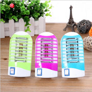 Socket Insect Zapper Killer US Plug 1pcs Electronic Mosquito Killer Random Colour Portable Fly Bug Trap LED Night Light Lamp