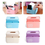 Solid Multifunctional Convenient Tissue Box Cover Dispenser Napkin Box Paper Holder Case Desk Organizer For Home