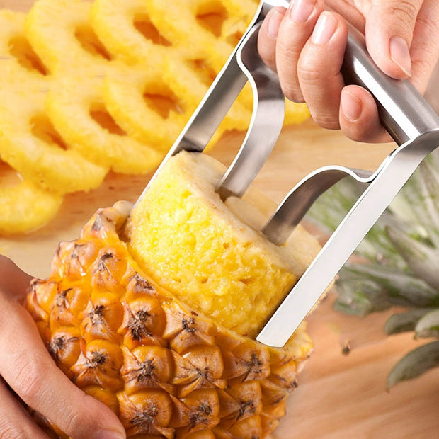 Stainless Steel Fruit Pineapple Slicer Peeler Cutter Kitchen Tools DC156