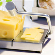 Stainless Steel Eco-friendly Cheese Slicer Butter Cutting Board Butter Cutter Knife Board Kitchen Kitchen Tools