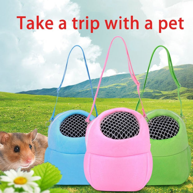 TAILUP Comfortable Small Size Pet Rat Hamster Hedgehog Chinchilla Ferret Carrier Winter Keep Warm Hanging Bag Supply