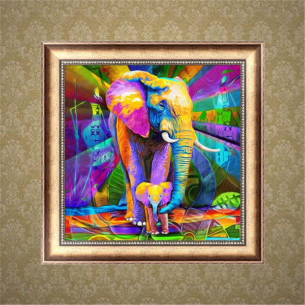 UK 5D Diamond Painting Embroidery Animal Cross Crafts Stitch Kit Home Decor DIY Paint Decorate Your Home