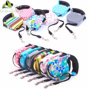 ULTRASOUND PET Retractable Leash 5 Meters Flexible Dog Puppy Cat Lead Leashes Sport Collars Automatic Traction Rope Pet Products