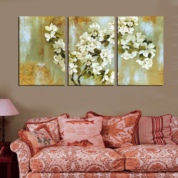 Vintage Home Decor Painting Canvas Wall Art Picture Decorative Pictures Living Room Canvas Print Modern Painting No Frame HY86