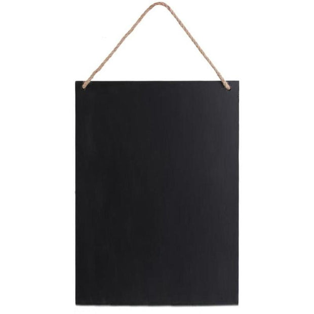 Vintage Wooden Double-side Blackboard Decorative Chalkboard Sign Memo Board For Wedding Home Wall Decor Hanging Drawing Board