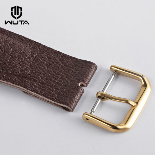 WUTA Hight Quality 1PCS Stainless Steel Pin Buckle For Apple Watch 38/42mm Solid Metal Watch Strap Clasp DIY Leather Accessories
