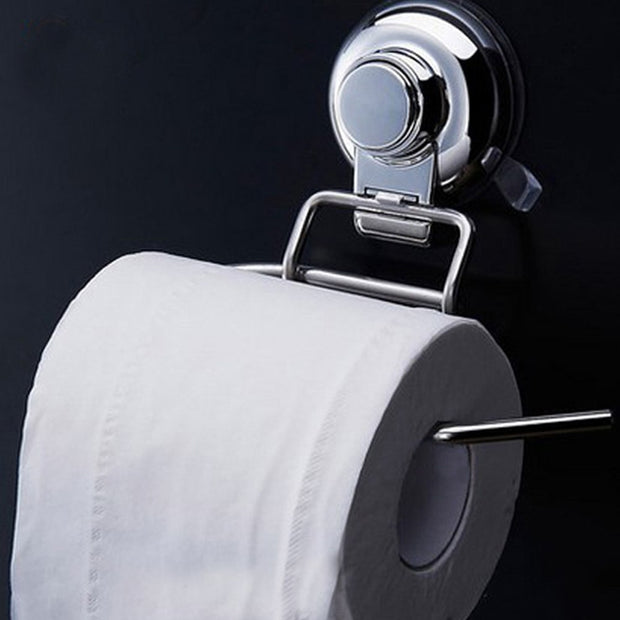 Wall Mounted Bathroom Stainless Steel Toilet Paper Holder Roll Tissue Hook