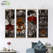 Wall Art Picture Paintings By Numbers Poster Japanese HD Canvas Poster Wall Picture Scroll Painting For Living Room Decoration