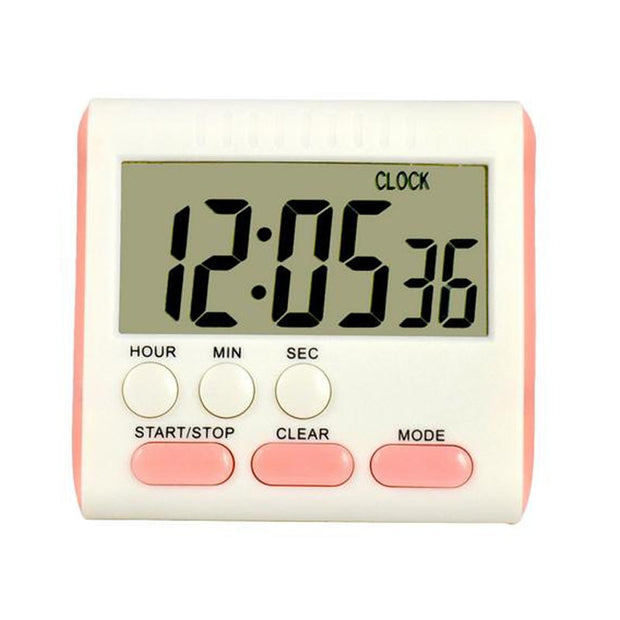 Cooking Multi-function Timer Refrigerator Alarm Clock Magnet Electronic Clock Stopwatch Large LCD Screen Digital Timer Kitchen