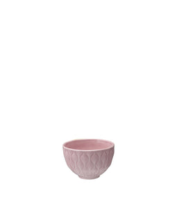Weave 150ml Textured Bowl Dusty Pink