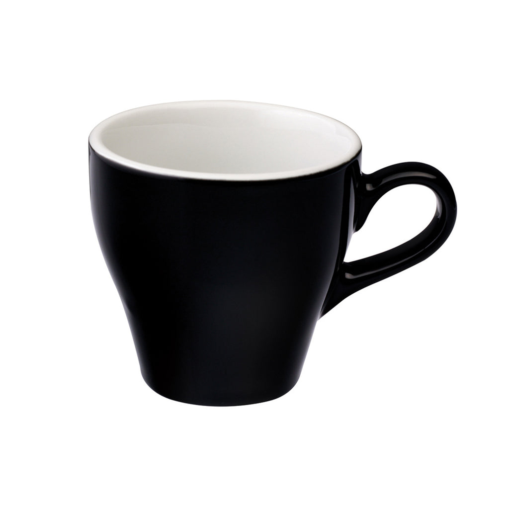 Loveramics Tulip Latte Cup (Black) 280ml
