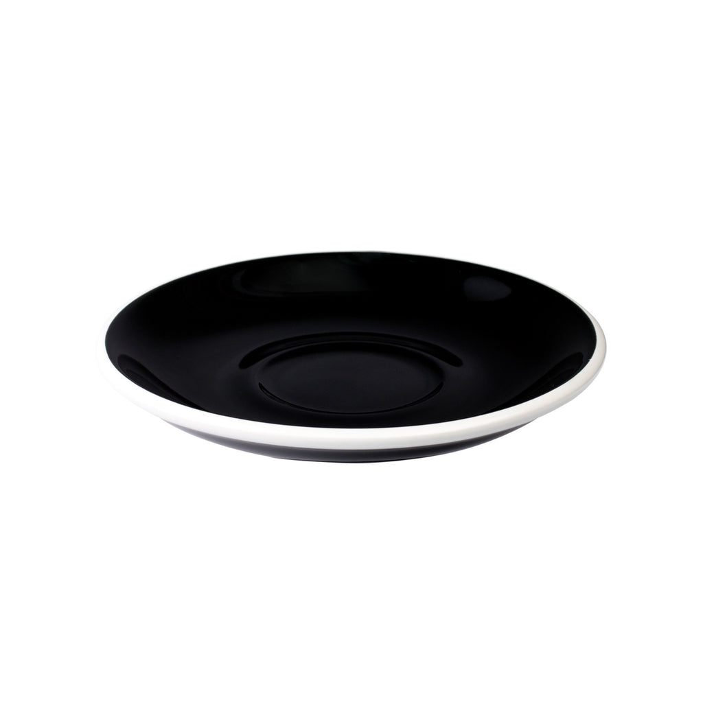 Loveramics Egg Latte Saucer (Black) 15.5cm