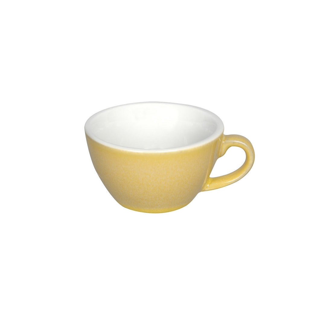 Loveramics Reactive Glaze Potters Flat White Coffee Cup (Butter Cup) 150ml