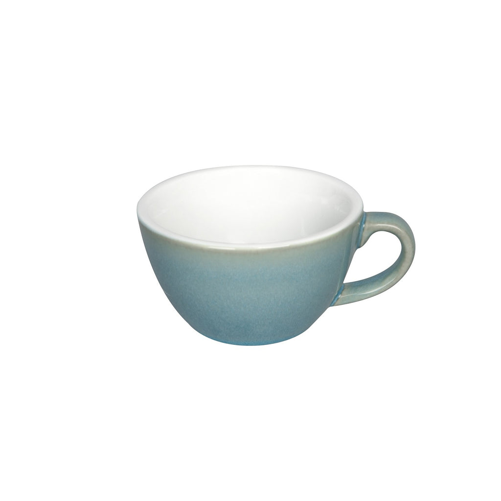 Loveramics Reactive Glaze Potters Flat White Coffee Cup (Ice Blue) 150ml