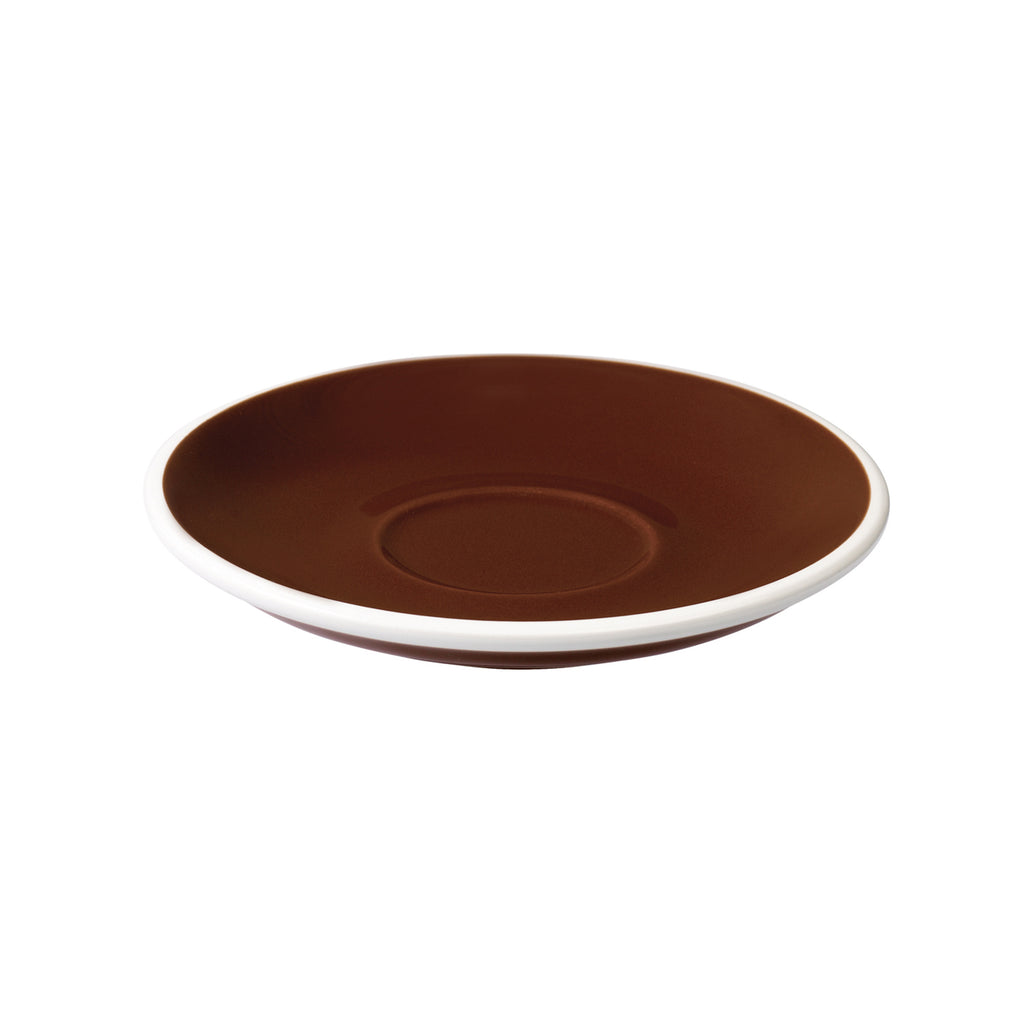 Loveramics Egg Cappuccino / Flat White Saucer (Brown) 14.5cm