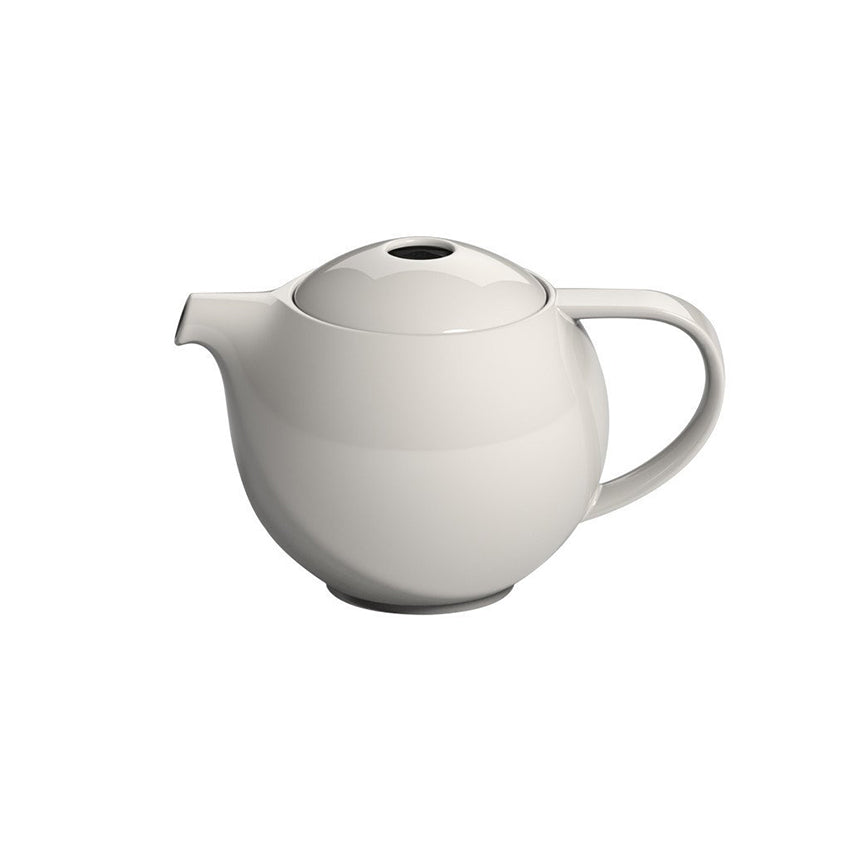Lovermics Pro Tea Teapot with Infuser (Cream) 900ml