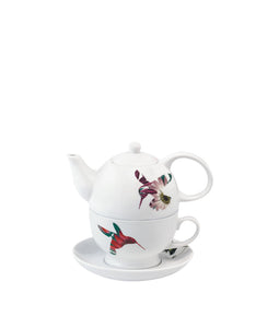 Loveramics Flutter Tea for One Teapot Cup and Saucer