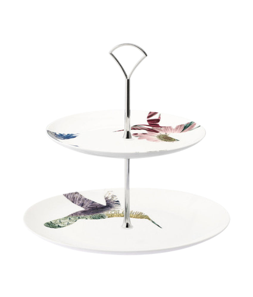 Loveramics Flutter Two-Tier Cake stand