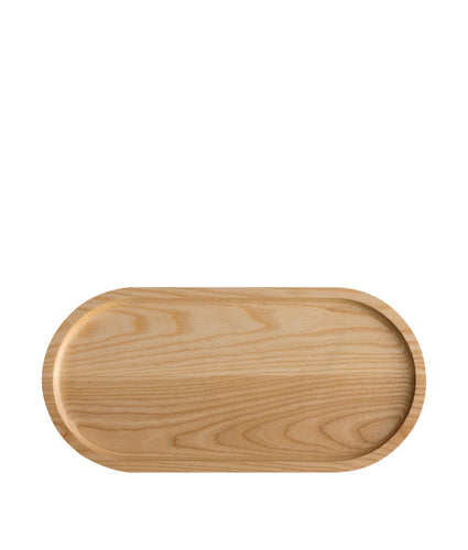 Er-go! System Solid Ash Wood Platter Natural 41cm