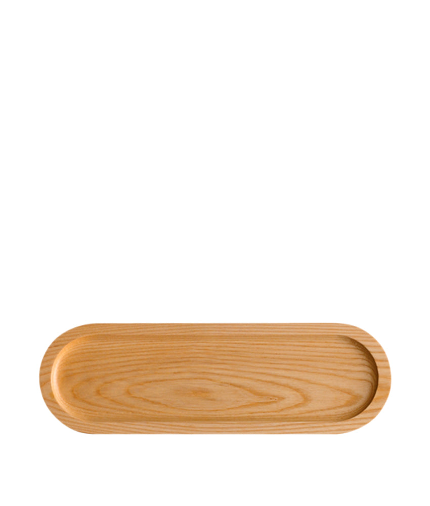 Er-go! System Solid Ash Wood Platter Natural 31cm