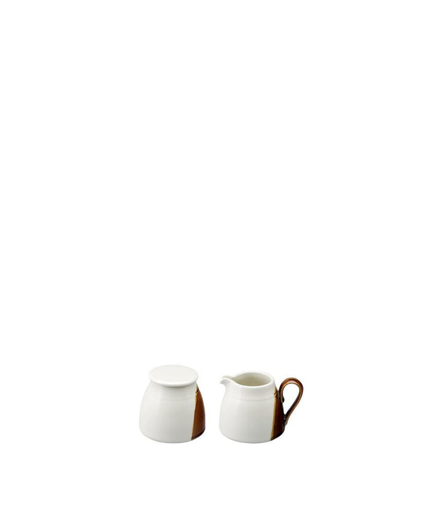 Sancai 330ml Sugar Pot and Creamer Set
