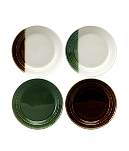 Sancai Set of 4 Salad Plates