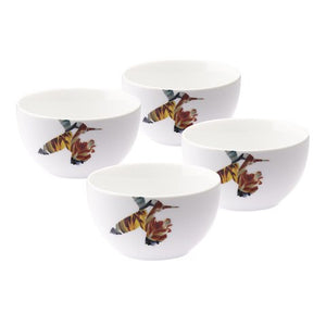 Loveramics Flutter Set of 4 Rice Bowl