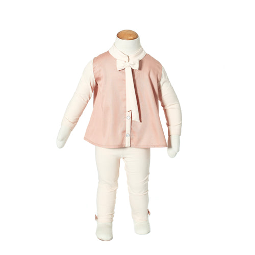 pyjama girly girls pink fancy elegant stylish classic klassiek Plumeline buy online kopen