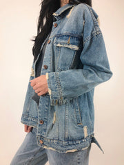 Prior Denim Jacket 3008 - little Mountain Vancouver