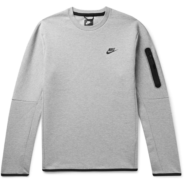 Nike Tech Fleece Crewneck Sweatshirt Grey